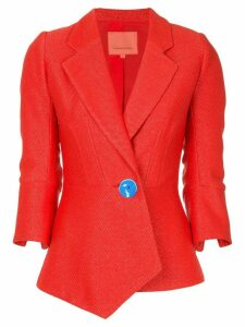 Manning Cartell contrast button blazer - Red
