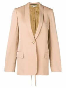 Stella McCartney classic fitted blazer - Neutrals