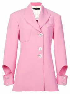 Ellery cut out cuff blazer - Pink
