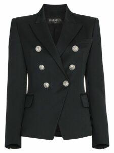 Balmain Marine double-breasted blazer - Black