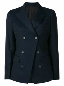 Salvatore Ferragamo double breasted blazer - Blue