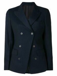 Salvatore Ferragamo double breasted blazer - Blue