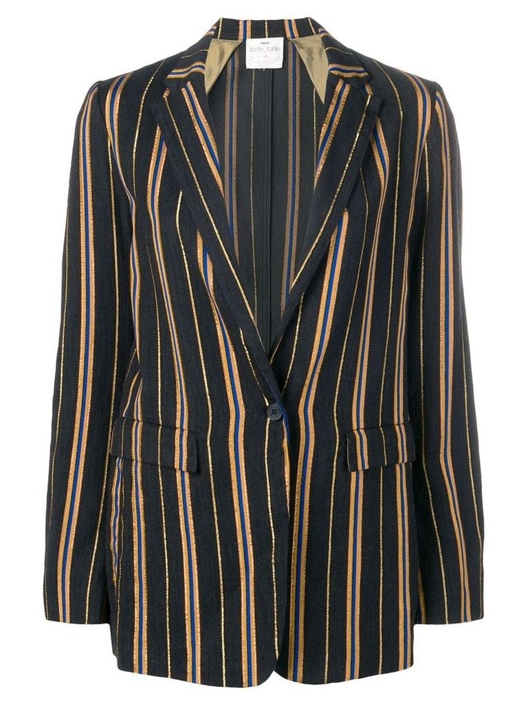 Forte Forte striped blazer - Blue