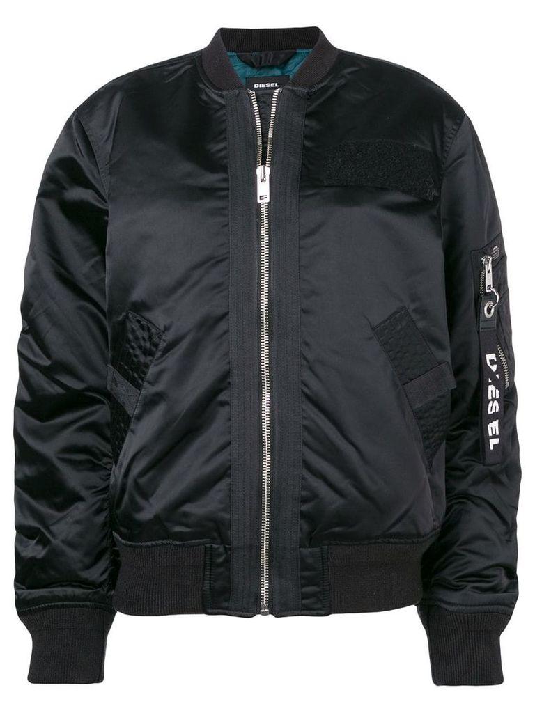 Diesel G-Souly-FL bomber jacket - Black