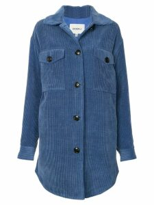Goen.J oversized corduroy jacket - Blue