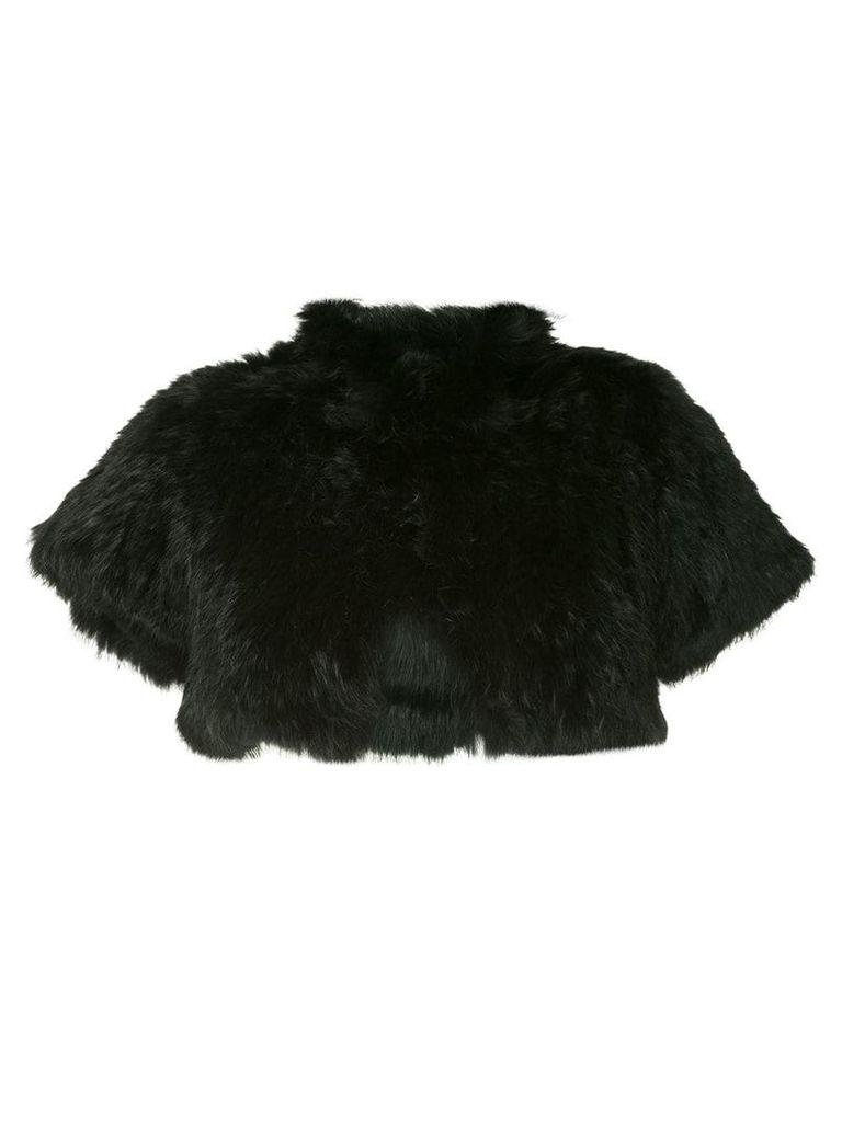 Jocelyn cropped jacket - Black