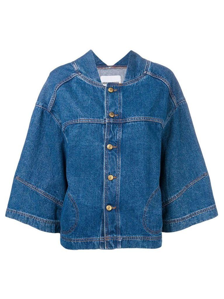 Henrik Vibskov Pound jacket - Blue