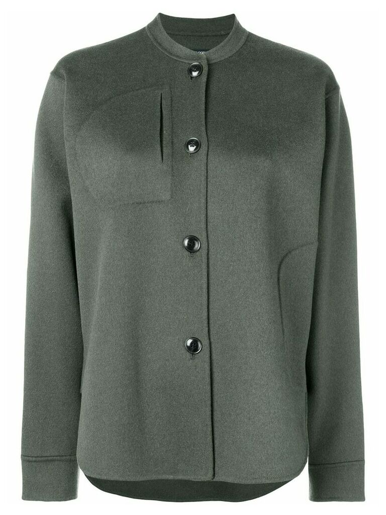 Sofie D'hoore fitted shirt-jacket - Green