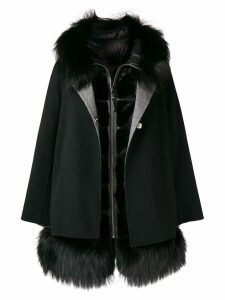 Cara Mila Aurora two-piece coat - Black