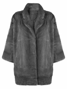 N.Peal oversized coat - Grey