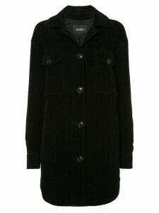 Goen.J corduroy shirt jacket - Black