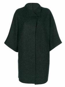 Harris Wharf London oversized cape jacket - Grey