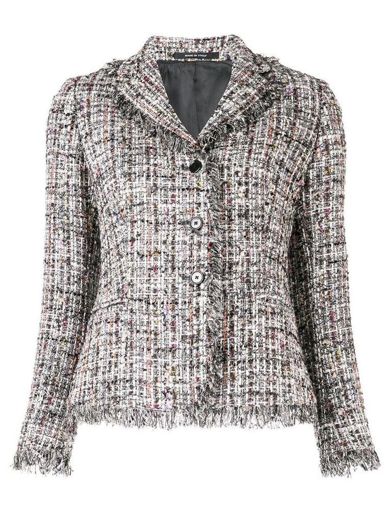 Tagliatore Adele tweed jacket - Grey