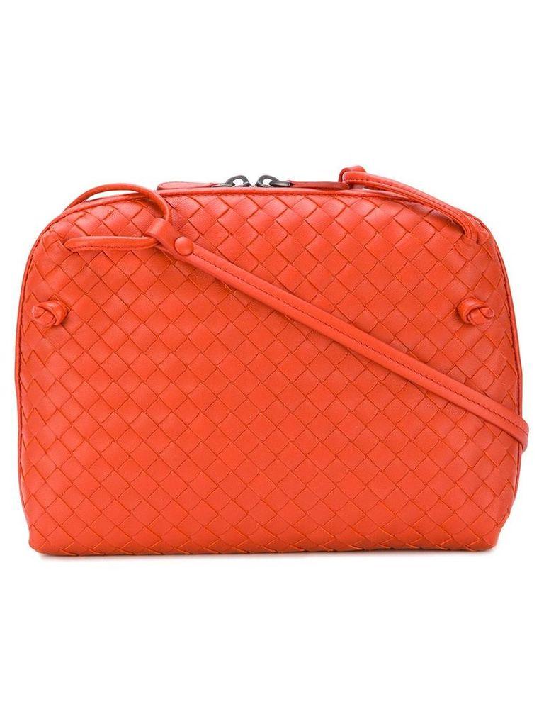 Bottega Veneta terracotta intrecciato nappa nodini bag - Orange