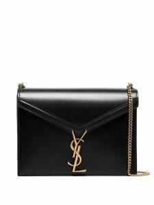 Saint Laurent Marceau Logo clasp leather bag - Black