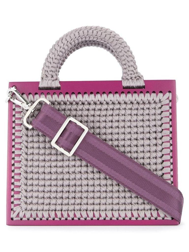 0711 large St. Barts tote bag - Pink