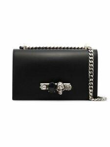 Alexander McQueen Knuckle Duster satchel bag - Black