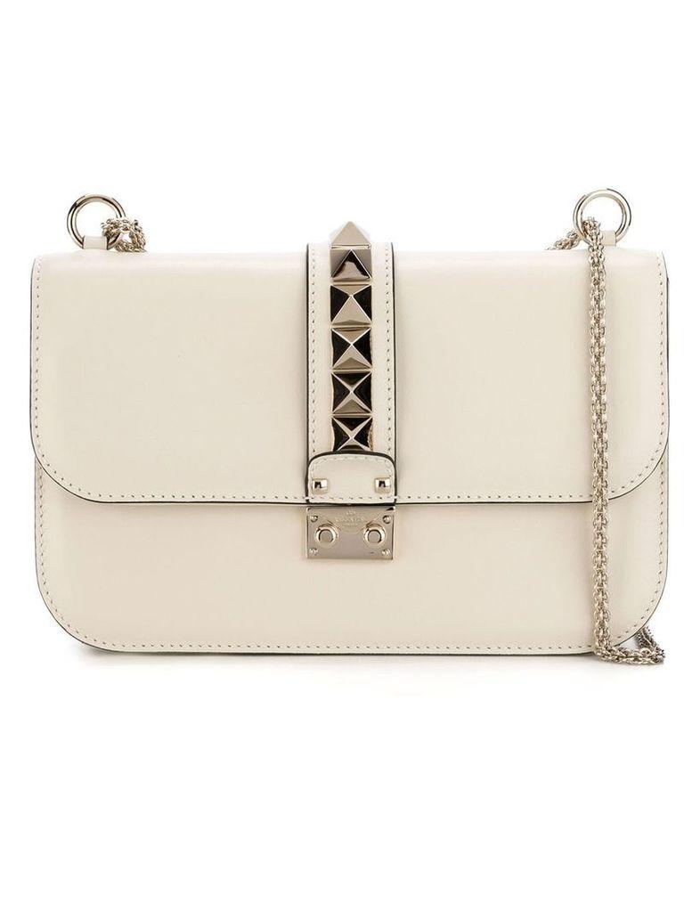 Valentino Valentino Garavani 'Glam Lock' shoulder bag - White