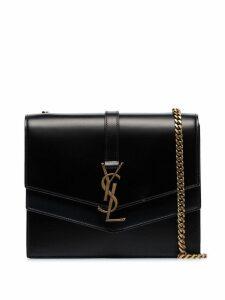 Saint Laurent black Montaigne leather shoulder bag