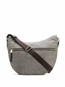 Borbonese printed shoulder bag - Neutrals