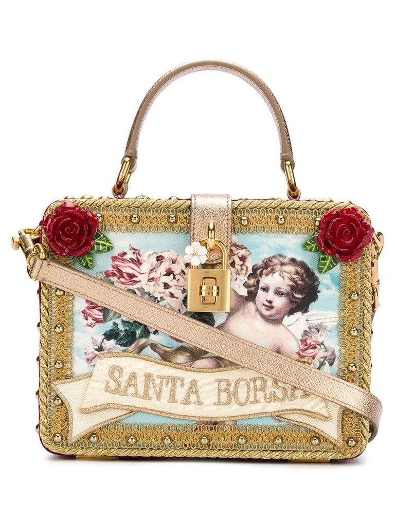 Dolce & Gabbana Santa Borsa box tote - Red