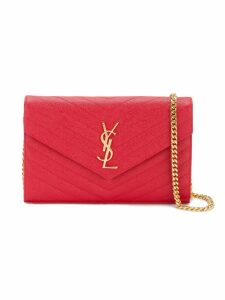 Saint Laurent Monogram shoulder bag - Red