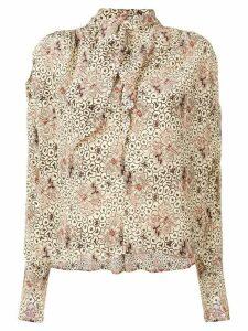 Isabel Marant Higi printed blouse - Neutrals