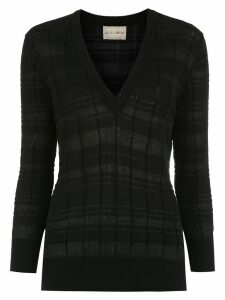 Andrea Bogosian knitted top - Black