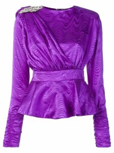 Dodo Bar Or patterned party blouse - Purple