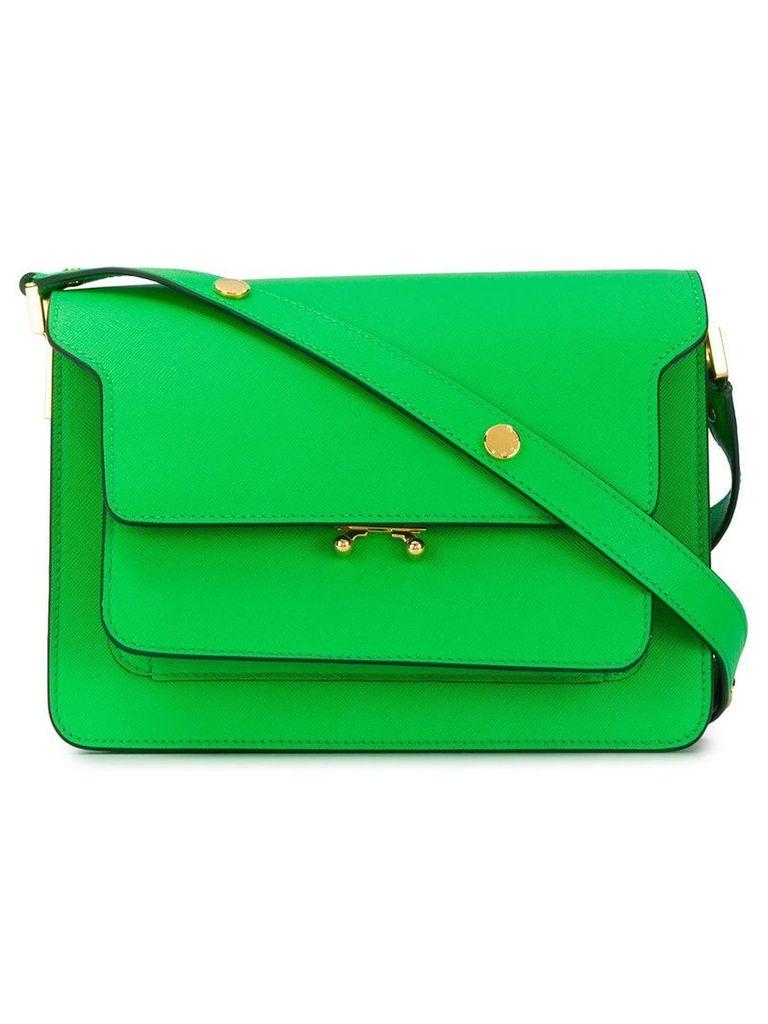 Marni Trunk shoulder bag - Green