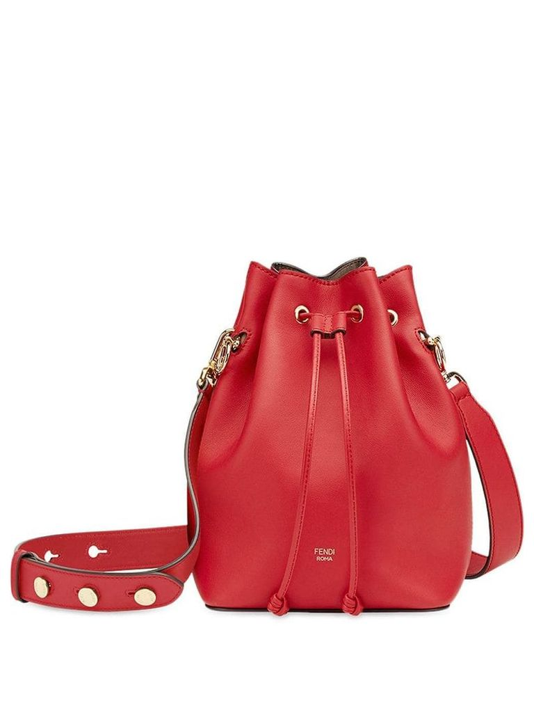 Fendi Mon Tresor bucket bag - Red