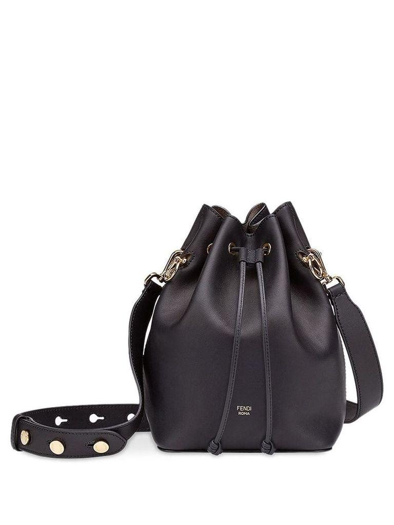 Fendi black Mon Tresor bucket bag