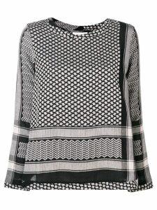 Cecilie Copenhagen straight fit blouse - Black