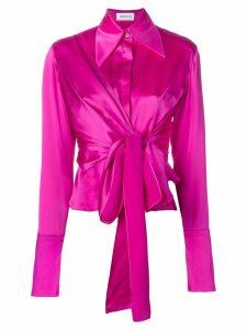 16Arlington shirt with knot detail - Pink