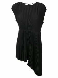 MSGM micro pleated top - Black