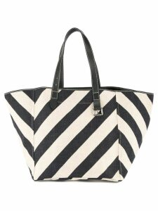 JW Anderson striped Shopping tote - Blue