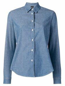 Aspesi long-sleeved shirt - Blue