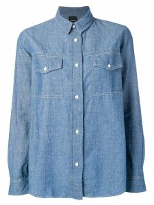 Aspesi chambray shirt - Blue