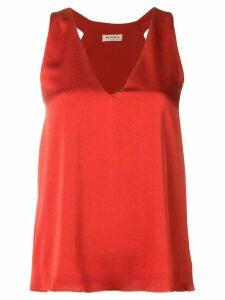 Blanca sleeveless blouse - Orange