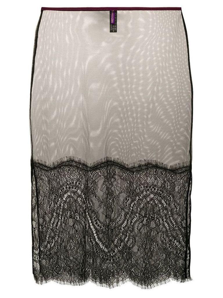Maison Close Coup De Foudre skirt - Black