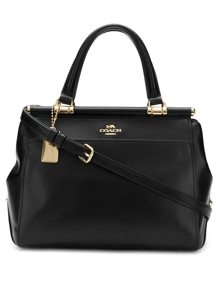 Coach structured tote bag - Black
