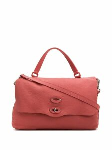 Zanellato Postina flip lock tote bag - Pink