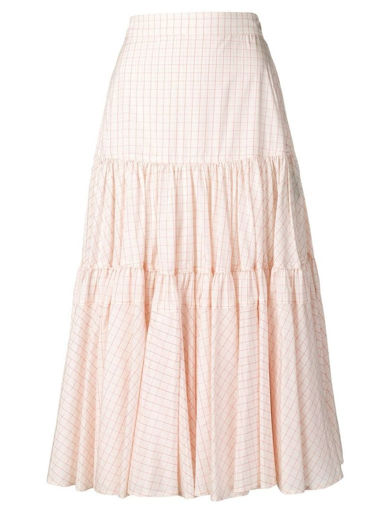 Calvin Klein 205W39nyc full midi skirt - Pink