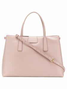 Zanellato trapeze tote bag - Pink
