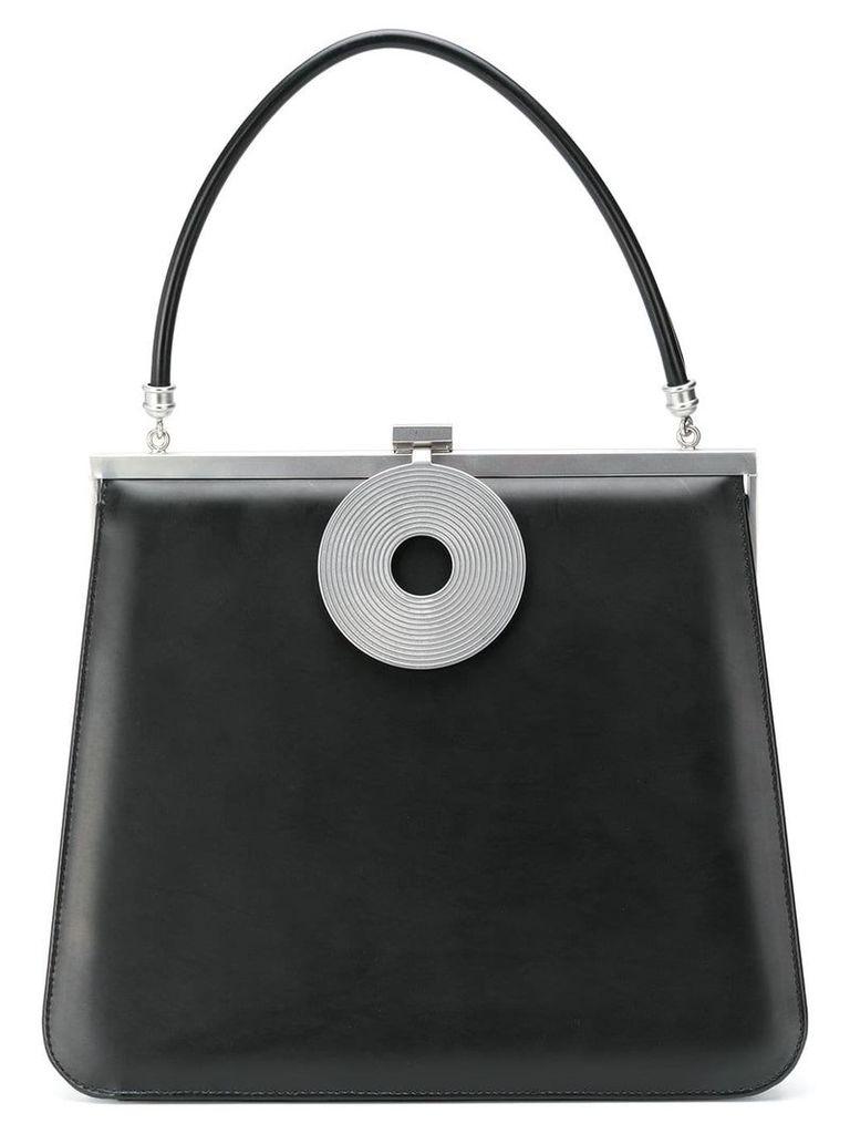 Dorateymur top handle tote bag - Black