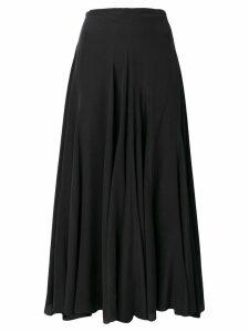 Haider Ackermann Sophora godet skirt - Black