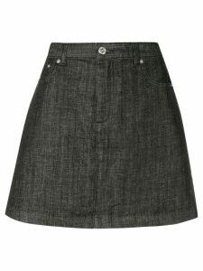 A.P.C. A-line mini skirt - Blue
