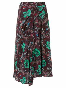 Isabel Marant Étoile all-over print skirt - Red