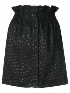 Dondup elasticated waist skirt - Black