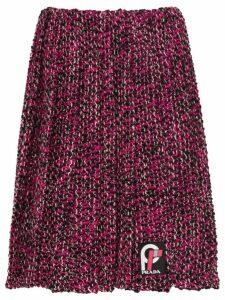 Prada pleated knickerbocker fabric skirt - Pink